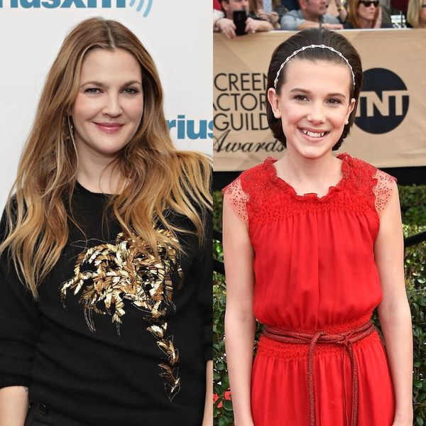 """Drew Barrymore and Millie Bobby Brown Bonded Over """"E.T."""" and """"Stranger Things"""""""