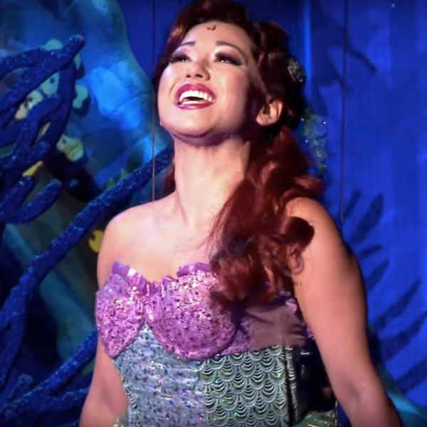This Little Mermaid Star Has a Message for Critics Who Say Ariel Can't Be Asian