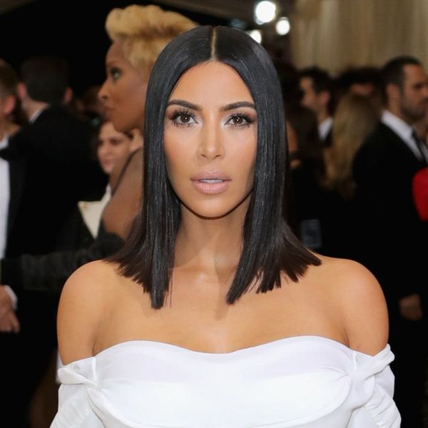 Kim Kardashian Wore the Most Glittery, Naked Bodysuit of All Time