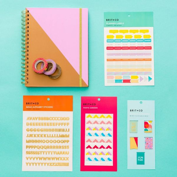 The Perfectionist's Guide to the Brit + Co Planner Line
