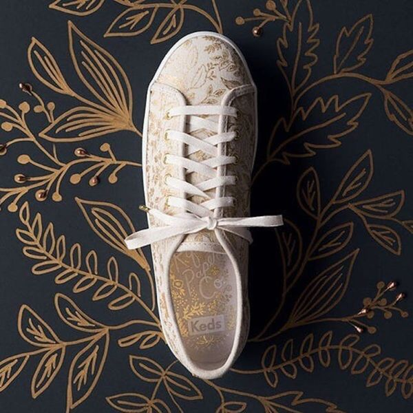 The Keds x Rifle Paper Co. Collab Is Floral Sneaker Perfection