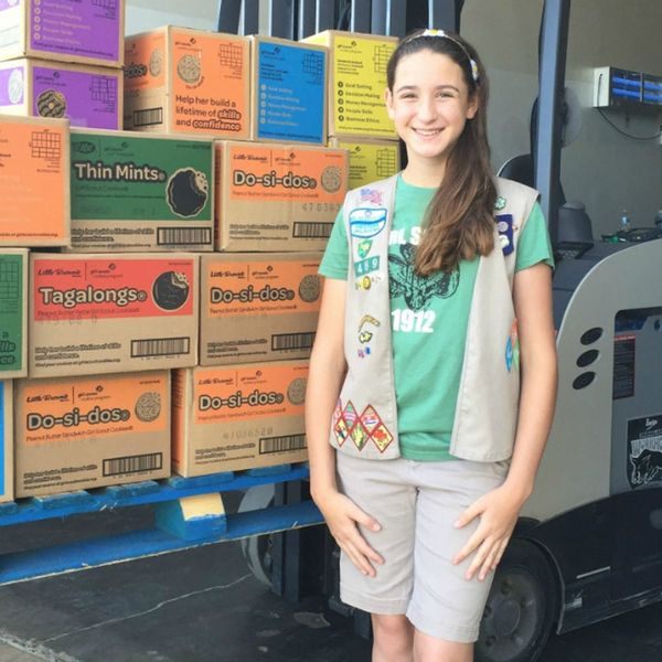 A Record-Breaking Girl Scout Teaches Us How to Sell Like a Boss