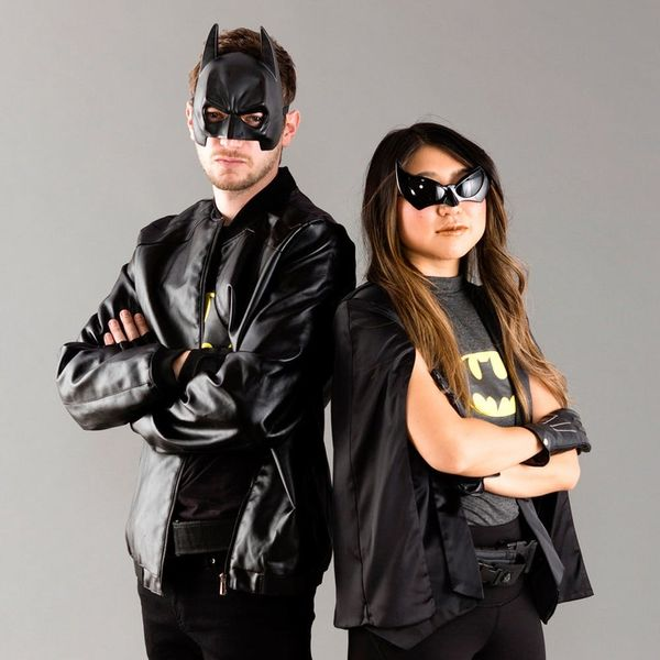 Save Gotham City With This Batman and Batgirl Couples Halloween Costume