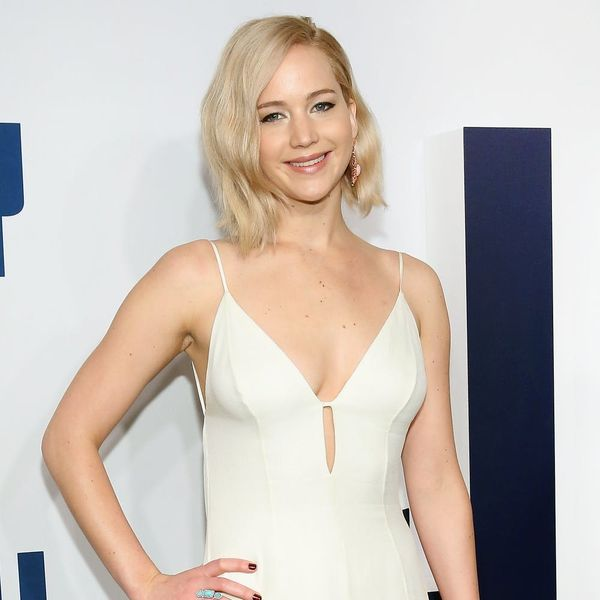 Jennifer Lawrence Reacts to Ariana Grande's SNL Impression of Her