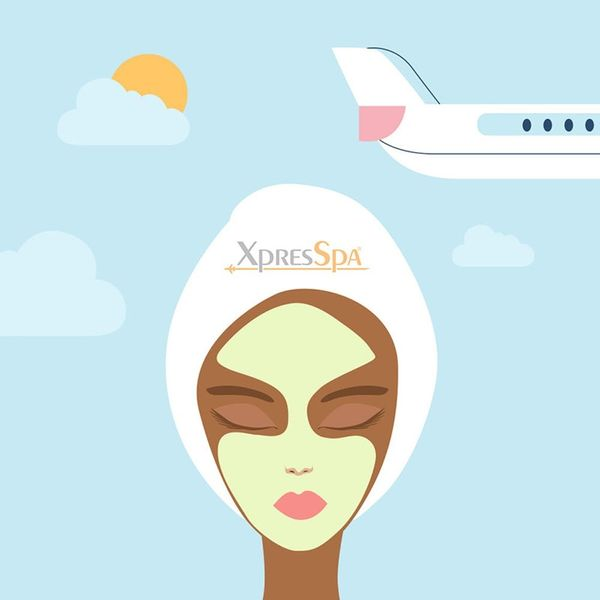 Here's the Honest Truth About Getting a Facial at the Airport