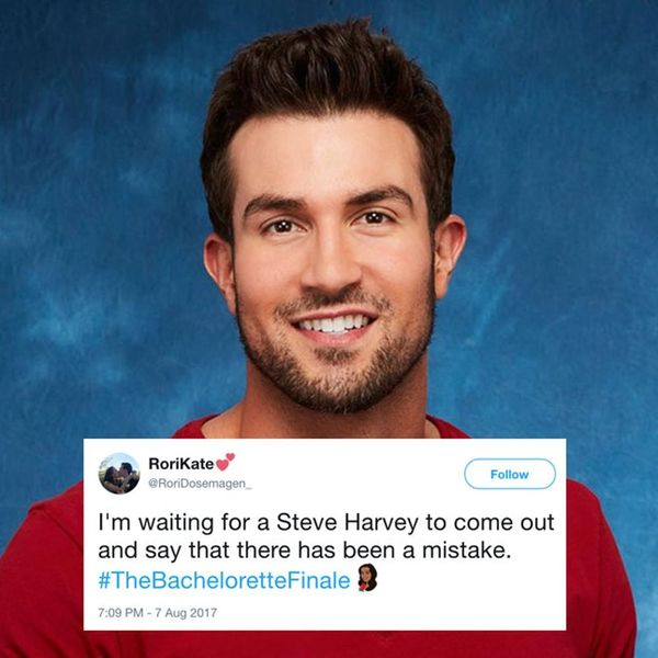 The Internet Has FEELINGS About The Bachelorette Finale and We Relate to All of It