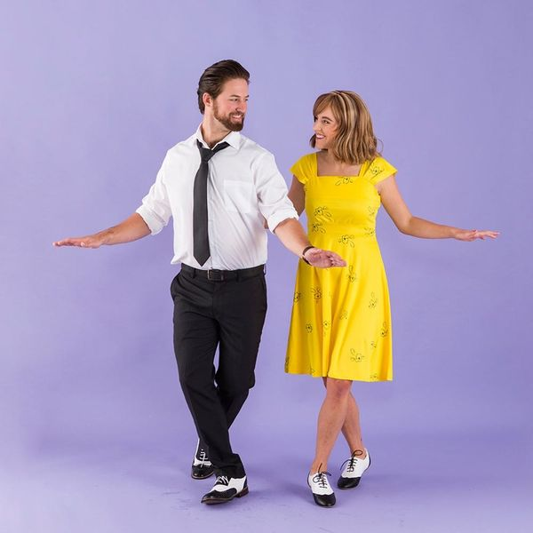 Dance Through Halloween With This La La Land Couples Costume