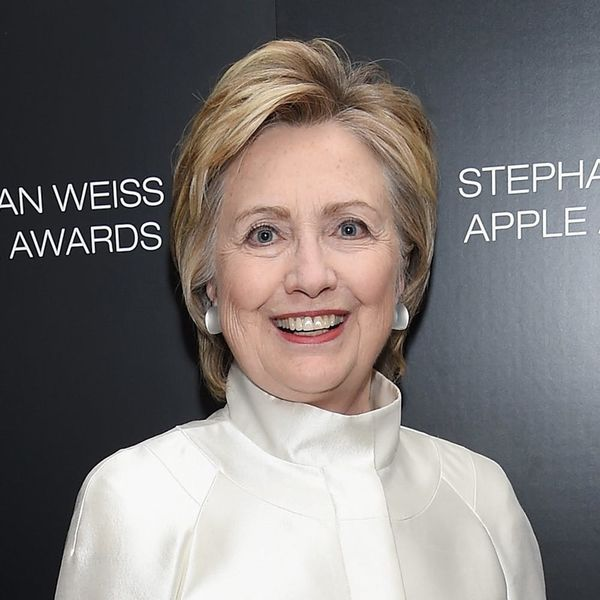 We Can All Take a Page Out of Hillary Clinton's Wedding Guest Style Book