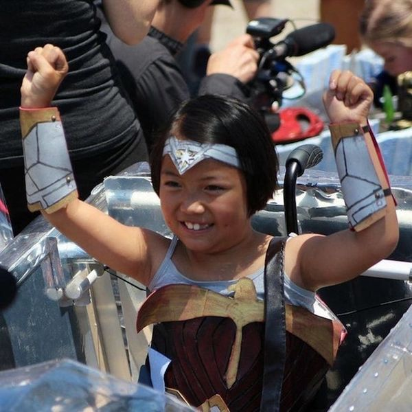 """This Husband and Wife Team Make Epic Costumes for Kids in Wheelchairs to Feel """"Badass"""""""