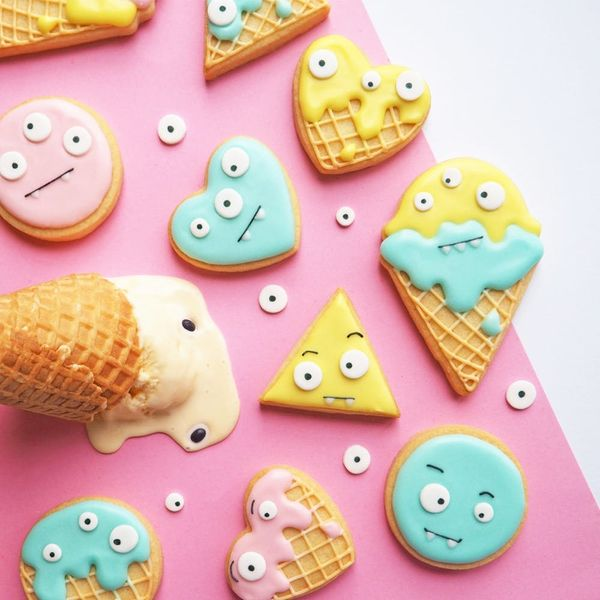 Sink Your Teeth into These Monster Eye-Scream Cookies