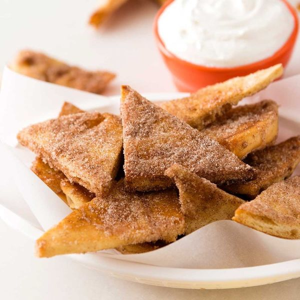 Make Your Dessert Dreams Come True With This Baked Churro Chips Recipe