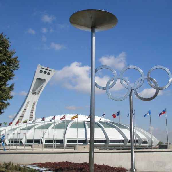 So Many People Are Fleeing the US to Canada That Montreal's Olympic Stadium Has Been Turned into a Shelter