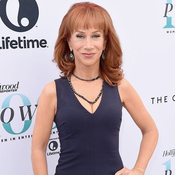 Kathy Griffin Shaved Her Head in Solidarity With Her Sister