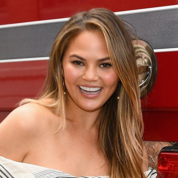 Chrissy Teigen Is All of Us With Period Skin