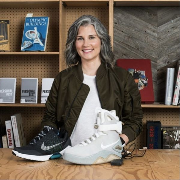 This Nike Engineer Hopes Her Marty McFly Sneaker Will Break Down Accessibility Barriers