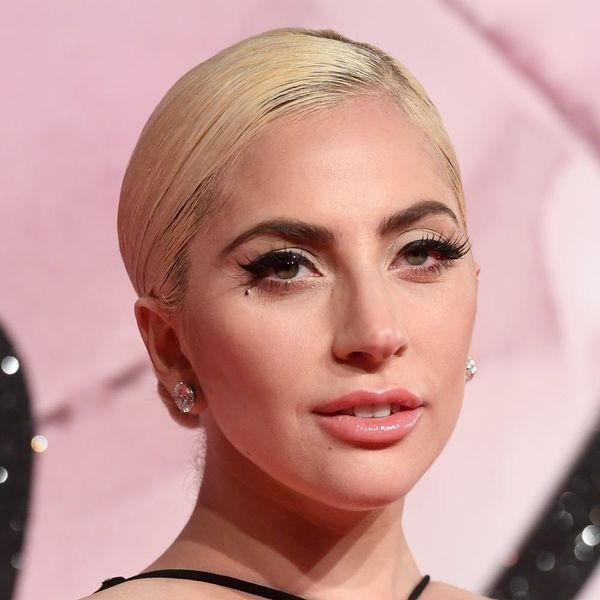 Lady Gaga Is Kicking Off Her World Tour With Two-Tone Rainbow-Colored Locks