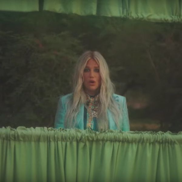 """Kesha's New Video Shows Us Why We Should """"Learn to Let Go"""""""