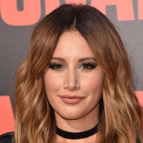 Ashley Tisdale Just Debuted the Summer-Perfect Brunette Lob