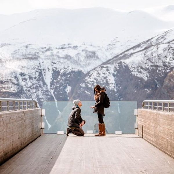 10 Mountaintop Proposals That Will Take Your Breath Away