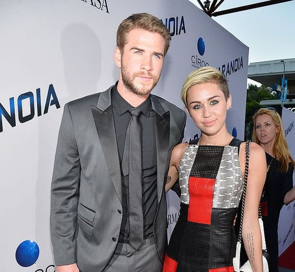 Miley Cyrus Can't Stop Writing Songs About Liam Hemsworth and This Sweet Pic Proves It