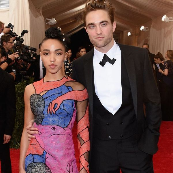"""Robert Pattinson Says He's """"Kind of"""" Engaged to FKA Twigs"""