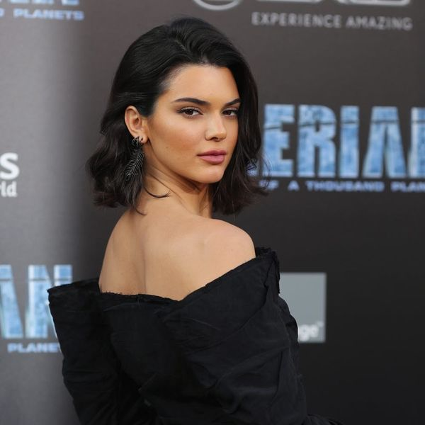 Kendall Jenner Looks Like a '90s Goddess With Curly Hair