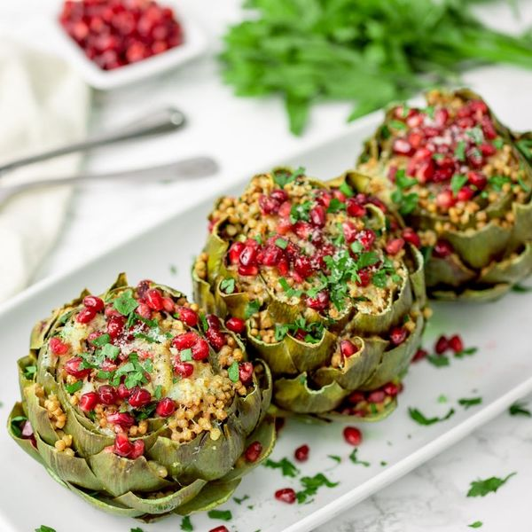 Seriously Impress Your Guests With Our Stuffed Artichokes Recipe