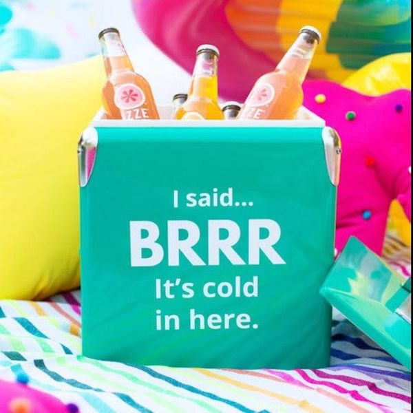 9 Colorful DIY Coolers That Will Bring the Party This Summer