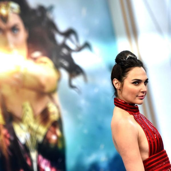 Gal Gadot Comforting a Little Girl Dressed As Wonder Woman Will Give You ALL the Feels