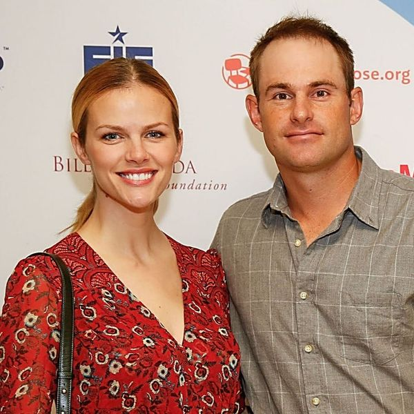 Andy Roddick Just Announced That He and Brooklyn Decker Are Expecting at the Most Unexpected Place