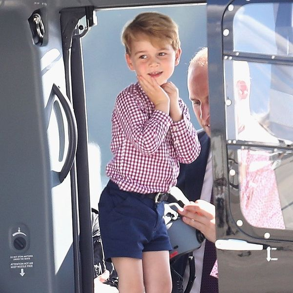 Prince George's Official 4th Birthday Portrait Will Instantly Melt Your Heart