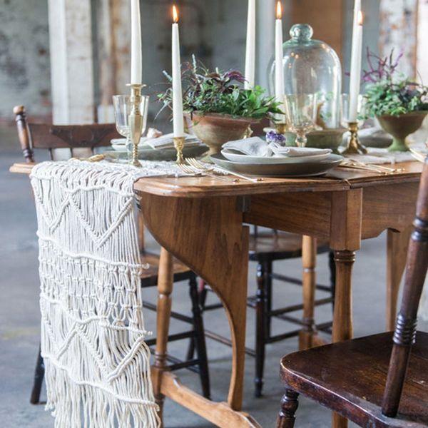 This New Wedding Decor Trend Is Every Boho Bride's Dream