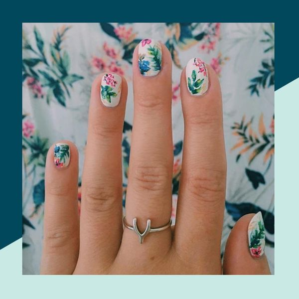 11 Floral Nail Designs for a Blooming Summer Mani