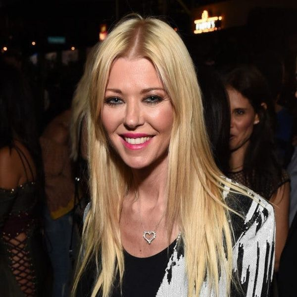 Tara Reid Is Pretty Much Unrecognizable With Her New Platinum 'Do and Bangs