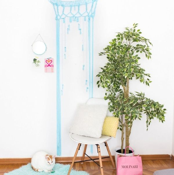 This Urban Outfitters-Inspired Boho Macrame Portal Is Surprisingly Cheap and Easy to Make