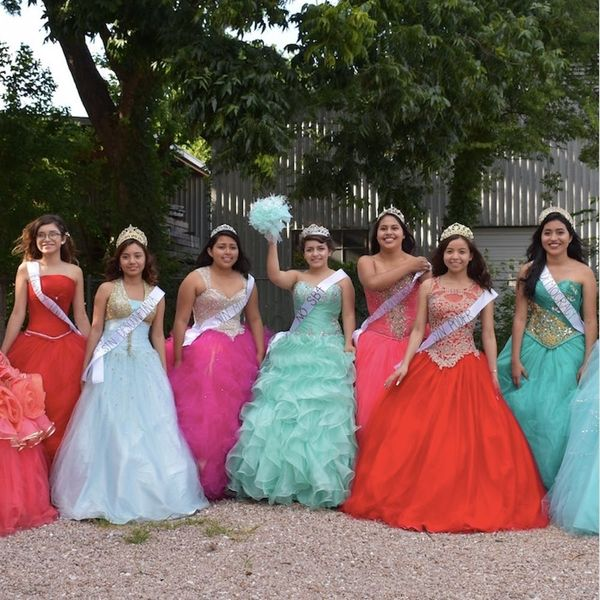 These Texas Teens Are Protesting Their State in Quinceañera Gowns