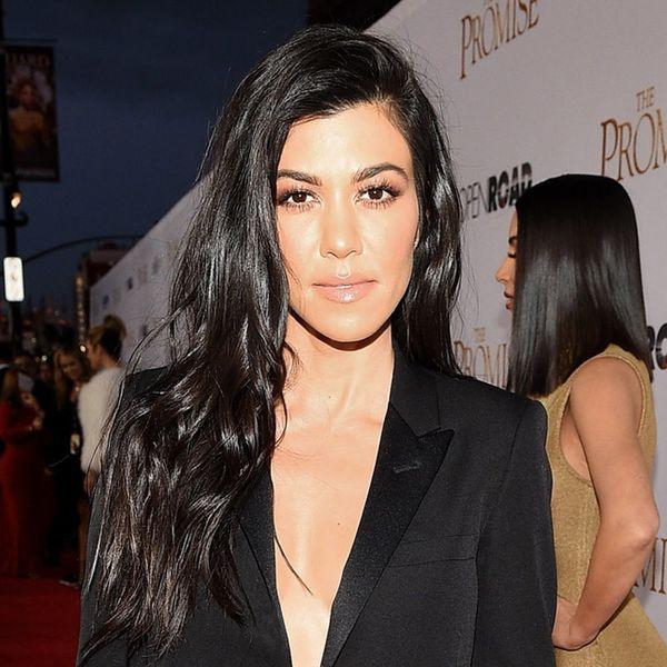 Kourtney Kardashian Shares Her Surprising Secret to Look Good Naked Skin