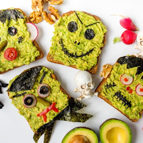 Get in the Halloween Spirit With Our Avocado Breakfast Recipe