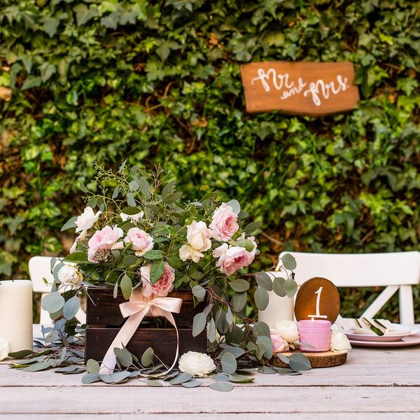 Three Easy DIY Projects for the Most Romantic Sweetheart Wedding Table