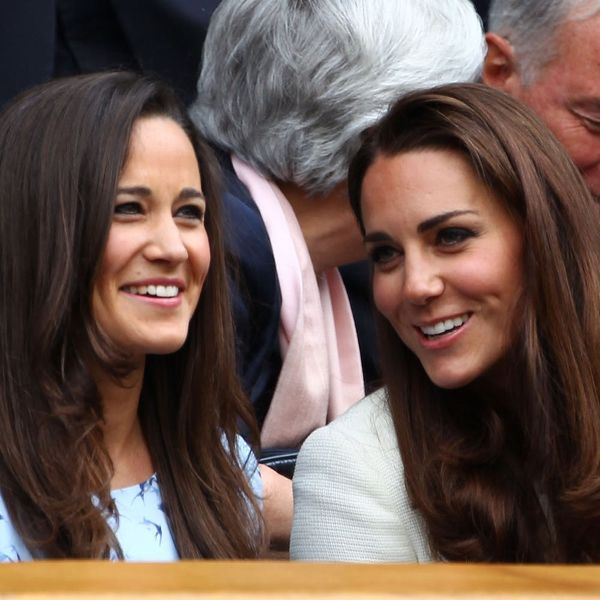 Kate and Pippa Middleton Totally Twinned in Florals at Wimbledon