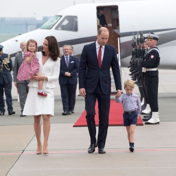 These Photos of Prince George and Princess Charlotte on Tour Are Heart-Meltingly Adorable