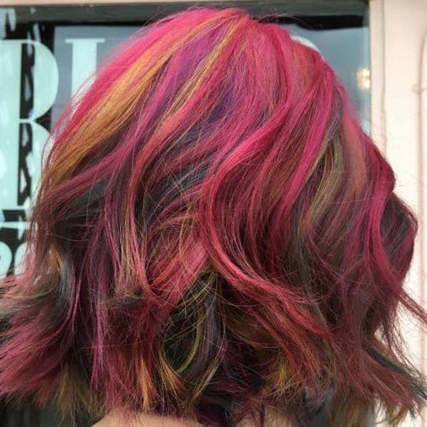 Fruity Pebble Hair Is Your Latest WTF Hair Inspo