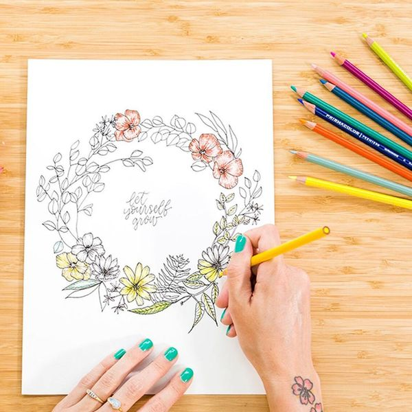 Learn How to Draw Florals in our New Online Class with Peggy Dean