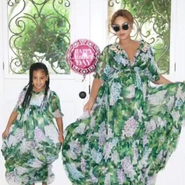 """Beyoncé's Mom Reveals Blue Ivy Is a """"Proud"""" Big Sister"""