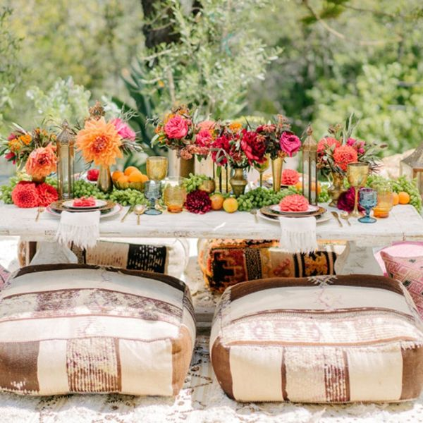Love Outdoor Lounging? This New Boho Party Trend Is for YOU