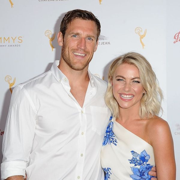 Brooks Laich's Reaction to Julianne Hough in Her Wedding Dress Will Make You Swoon
