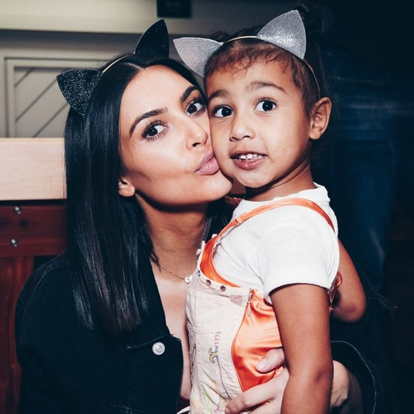 Kim Kardashian West Defends Putting Her Daughter in a Dress With a Faux Corset