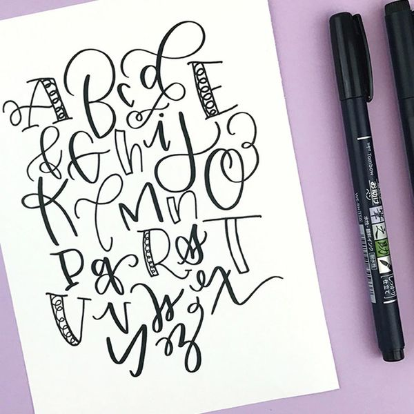 Craft Your Own Brush Lettering Style With Brittany Luiz of Tombow
