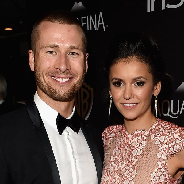 Nina Dobrev and Glen Powell Made Their Romance Official at Julianne Hough's Wedding