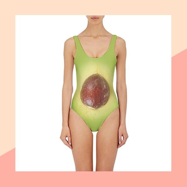 There's an Avocado Bathing Suit, and It's Surprisingly… Adorable?